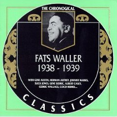 fats waller 1938 - 1939 CD 1997 classics made in france 22 tracks used mint