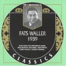fats waller - 1939 CD 1997 classics records made in france 23 tracks used mint