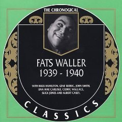 fats waller 1939 - 1940 CD 1998 classics records made in france 23 tracks used mint