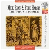 mick ryan & pete harris - the widow's promise CD 1997 wild goose 2002 terra nova used mint