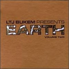 LTJ bukem presents earth volume two CD 1997 good looking records used very good