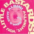zeni geva & steve albini - all right you little bastards! CD 1993 NG music with OBI strip used mint
