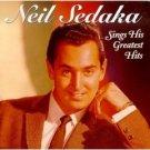 neil sedaka sings his greatest hits CD 1992 RCA 12 tracks used mint