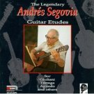 segovia collection vol.7 - the legendary andres segovia : guitar etudes CD 1990 MCA BMG Dir. mint