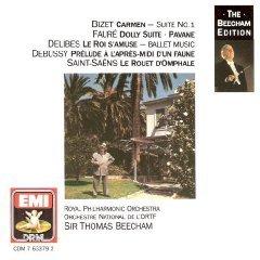 sir thomas beecham - bizet : carmen suite etc CD 1990 EMI BMG Direct used mint