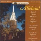 the harvard university choir - alleluia ! CD 1992 northeastern records used very good