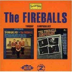 the fireballs - torquay & campusology CD 1993 ace UK used mint