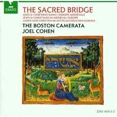 joel cohen and the boston camerata - the sacred bridge CD 1990 erato BMG Direct used mint