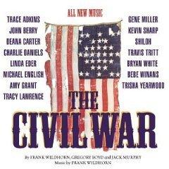 the civil war : the nashville sessions (1998 studio cast) CD 1998 atlantic used mint