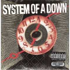 system of a down - hypnotize CD single 2005 columbia 3 tracks used mint