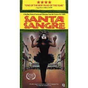 alejandro jodorowsky - santa sangre VHS 1990 republic pictures color 120 min used mint