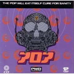 the pop will eat itself - cure for sanity CD 1991 RCA used mint