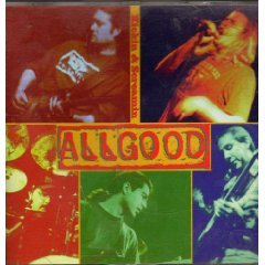 allgood - kickin & screamin CD 1994 A&M used mint barcode punched
