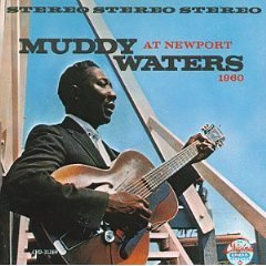 muddy waters - at newport CD 1986 MCA used mint
