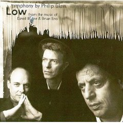 low - philip glass symphony from the music of david bowie & brian eno CD 1993 philips point mint