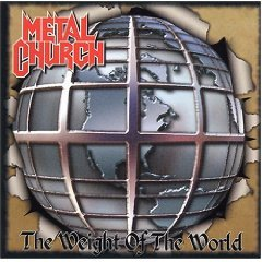 metal church - the weight of the world CD 2004 steamhammer spv made in germany used near mint