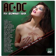 AC/DC we salute you CD with bonus DVD 2004 rufftown used mint
