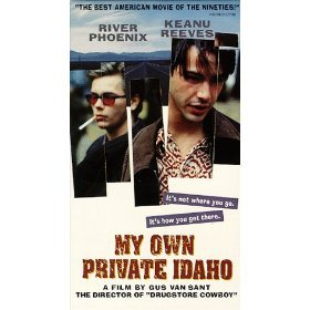 my own private idaho starring river phoenix and keanu reeves VHS 1992 new line color 105 min mint