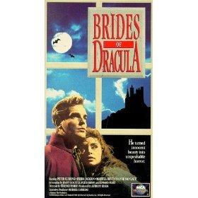 brides of dracula - starring Peter Cushing, Martita Hunt, Yvonne Monlaur VHS 1992 MCA used mint