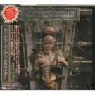 iron maiden - the x factor CD 2-disc 1995 EMI japan 14 tracks total used mint