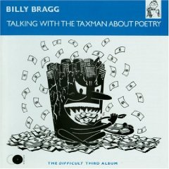 billy bragg - talking with the taxman about poetry CD 1986 elektra used mint