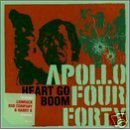 apollo 440 - heart go boom CD single 1999 sony made in england 4 tracks mint