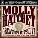 molly hatchet - greatest hits live featuring towe of power horns CD 2003 king biscuit mint
