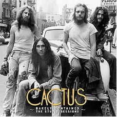 cactus - barely contained the studio sessions CD 1972 2004 elektra rhino new factory sealed