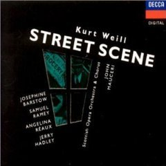 kurt weill - street scene an american opera CD 2-disc set 1991 polygram used mint