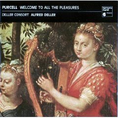 henry purcell - welcome to all the pleasures - deller consort CD 1988 harmonia mundi germany