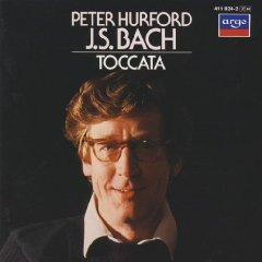 J.S. bach - toccata - peter hurford CD 1984 decca argo made in west germany used mint