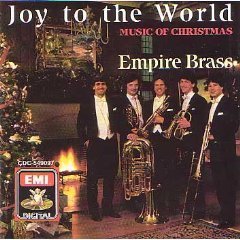 empire brass - joy to the world music of christmas CD 1988 angel EMI UK used mint