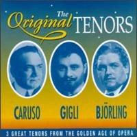 the original tenors - caruso gigli bjorling CD 1995 prism used mint
