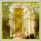 gregorian chant - christmas mass CD 1960 1990 deutsche grammophon polygram 20 tracks used mint