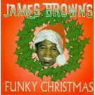 james brown's funky christmas CD 1995 polygram BMG Direct used mint