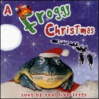 a froggy christmas sung by real live frogs CD 1998 rompin records 1999 whirly bird used mint