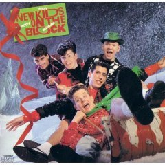 new kids on the block - merry merry christmas CD 1989 CBS used mint