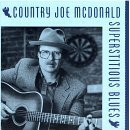 country joe mcdonald - superstitious blues CD 1991 rag baby rykodisc used mint