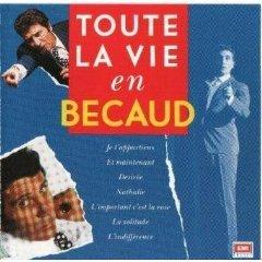 gilbert becaud - toute la vie en becaud CD 2-disc set 1990 EMI france used