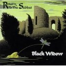 black widow - return to the sabbat CD 1999 mystic UK new factory sealed