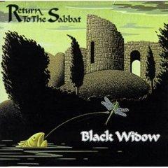 black widow - return to the sabbat CD 1999 mystic UK new factory sealed