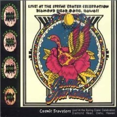 cosmic travelers - live! at the spring crater celebration diamond head oahu hawaii CD 2001 dodo new