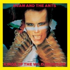 adam and the ants - kings of the wild frontier CD 1980 epic CBS used mint