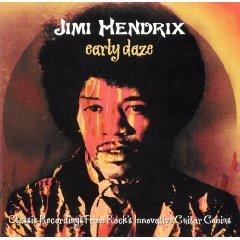 jimi hendrix - early daze CD 1996 hallmark made in england 10 tracks used mint