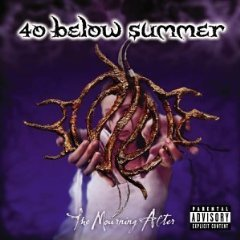 40 below summer - the mourning after CD 2003 razor & tie direct used mint barcode punched