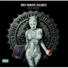 one minute silence - buy now ... saved later CD 2000 V2 used mint rear liner punched