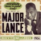 major lance - Everybody Loves a Good Time The Best of Major Lance CD 2-disc set 1995 sony mint