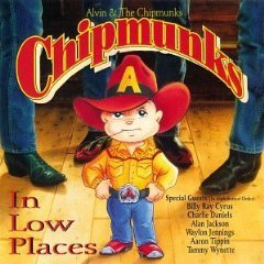 Alvin and the Chipmunks - Chipmunks in Low Places CD 1992 sony epic used mint