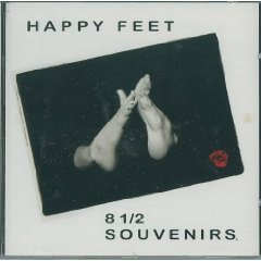 8 1/2 souvenirs - happy feet CD 1995 1996 continental records 13 tracks used