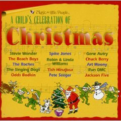 a child's celebration of christmas - various artists CD 1997 music for little people used mint
